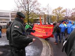 Ford-Kollegen aus Belgien auf Besuch in Köln
