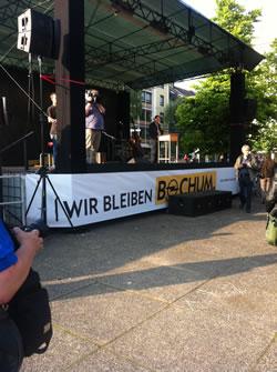 Solidaritätsveranstaltung für die Beschäftigten bei Opel
