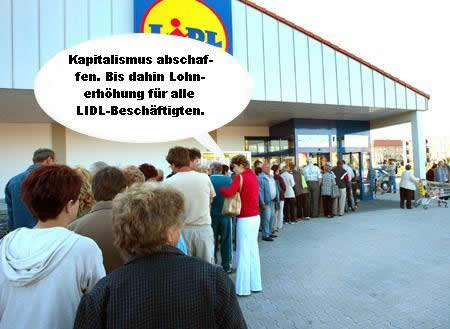 Einzelhandel Lidl
