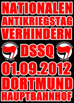 "1. September 2012: Proteste gegen den ""nationalen Antikriegstag"