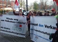 Stoppt den Verkauf der Gewerkschaftshäuser!